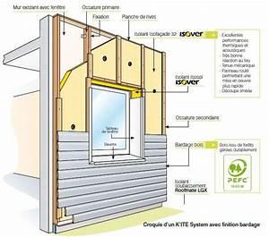 isolation par l39exterieur ouvertures separation With type d isolation maison 0 isolation exterieure comment isoler les murs exterieurs