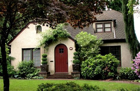 Pictures Of Cottage Style Homes by Stucco Tudor Cottage Exterior House Colors