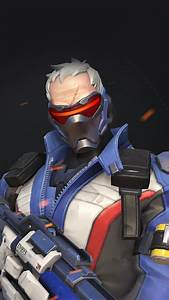 PAPERS co iPhone wallpaper au09-overwatch-soldier-76