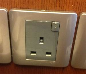 Wall Power Socket Adapter That Is Used In Kuala Lumpur Malaysia Is A 3 Prong 220v    Here Nor There