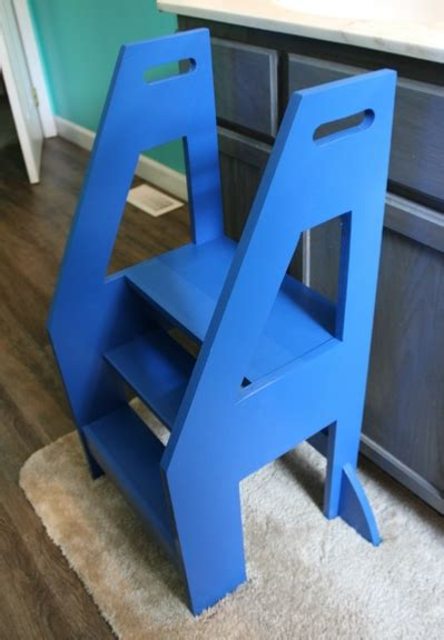 build  step stool   toddler diy