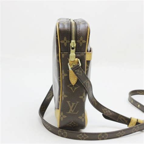 louis vuitton browns lv monogram danube cross body bag tradesy