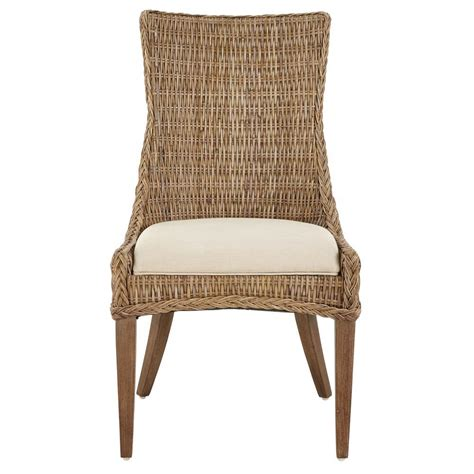 wicker kitchen furniture wicker dining chairs kitchen dining room furniture the