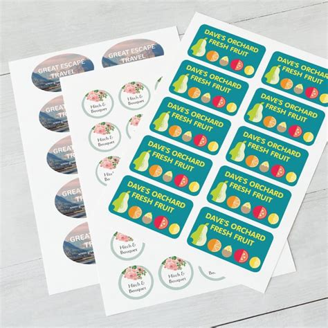 custom stickers make your own stickers vistaprint