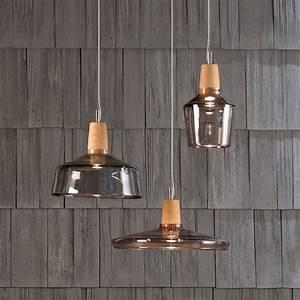Lampe Style Industriel : suspension multiple au style industriel une lampe fabriqu e manuellement avec du bois et du ~ Teatrodelosmanantiales.com Idées de Décoration