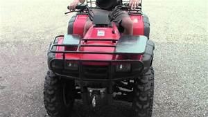 2001 Honda Rancher Trx350 Fm Atv