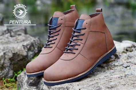 jual orginal promo sepatu boots brodo pria moofeat di