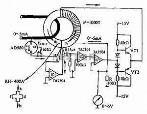 magnetic circuit sensors detectors circuits nextgr With axis magnetic sensor circuit hmc6042 sensor circuit sensorzine