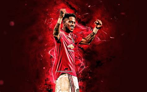 Download wallpapers Fred, 2020, Manchester United FC ...