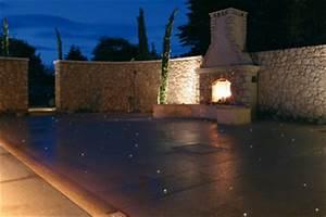 Eclairage Terrasse Piscine : fibre optics france eclairage par fibre optique pour ext rieurs piscines spas saunas ~ Melissatoandfro.com Idées de Décoration