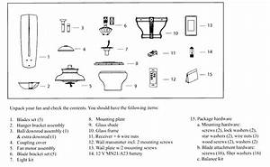 Ceiling Fan Spare Parts List