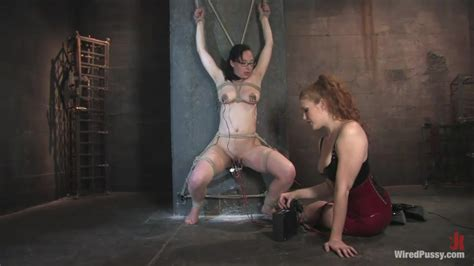 Bdsm Babes Sabrina Fox And Maggie Mayhem Enjoys Wired