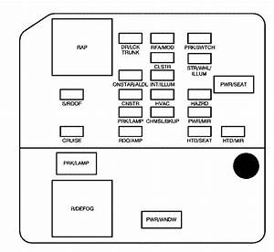 Buick Lacrosse  2009   U2013 Fuse Box Diagram