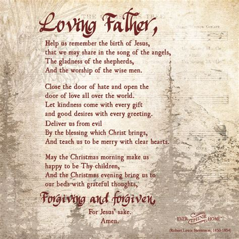 cloaing prayer for christmas progeamme a prayer thine home