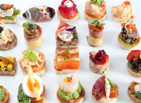 canapes ideas finger food ideas to your rock youne