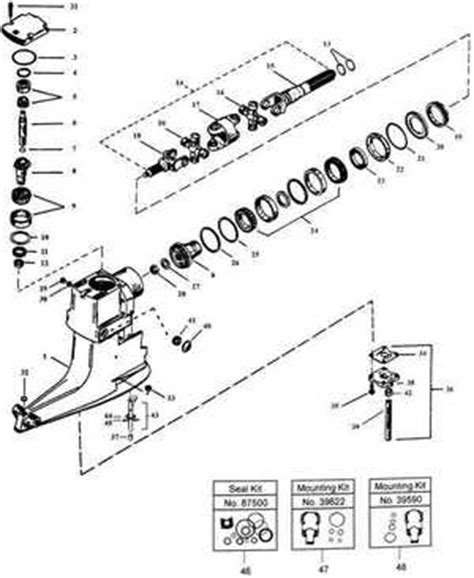 Mercruiser Lower Unit Diagram by Outboard Motor Lower Unit Diagram Impremedia Net