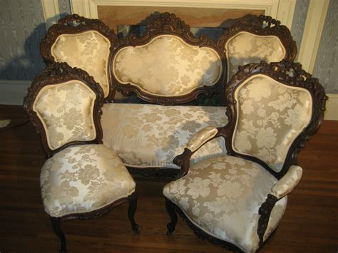 antique set sofa and chairs ebay