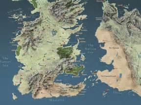 Game Thrones World Map