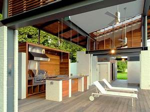 30, Fresh, And, Modern, Outdoor, Kitchens