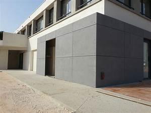 Bardage Fibre Ciment : panneau fibre de ciment construction maison b ton arm ~ Farleysfitness.com Idées de Décoration