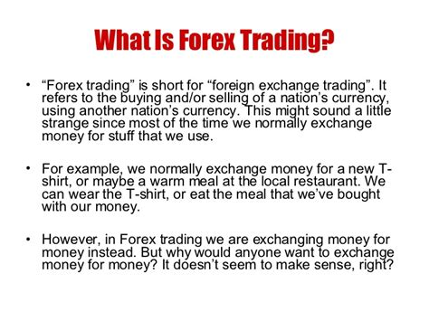 what is currency trading learn forex basics forex for beginners