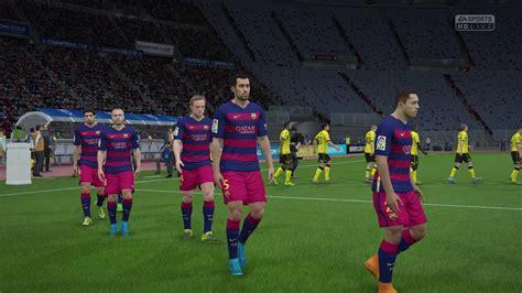 FIFA 16 - Barcelona vs Aston Villa Champions League Final ...