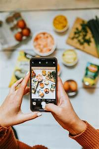Tips to take gorgeous photos on your phone of food. How to take amazing food photos on your ...