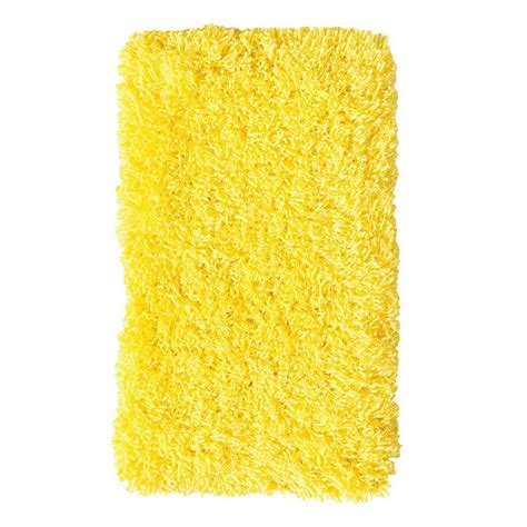 yellow shag rug home decorators collection ultimate shag yellow 9