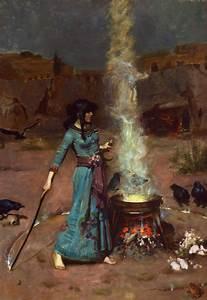 File:The magic circle, by John William Waterhouse.jpg ...