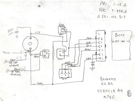 Bosch Electronic Ignition Wiring Diagram Forums