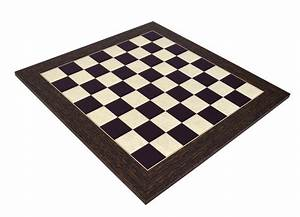 Deluxe Ebony Wood Chess Board With 2 U0026quot  Squares