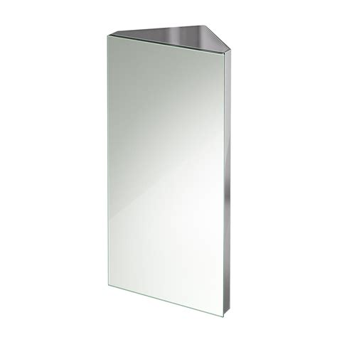 Stainless Steel Corner Bathroom Cabinet by 600 X300mm Stainless Steel Corner Bathroom Mirror Cabinet