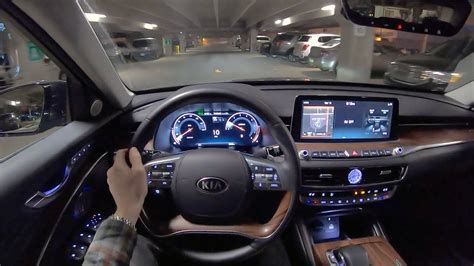 kia  luxury vip package pov night drive
