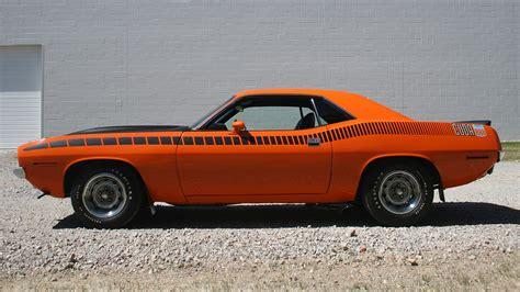 Muscle Cars Usa Plymouth Barracuda Classic Orange