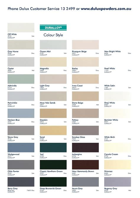 colour chart vintage colours repinned by www silver and