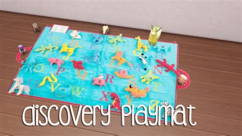discovery playmat  akai sims sims  updates