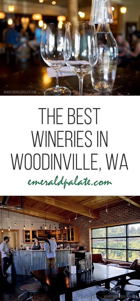 woodinville wineries map tasting wine guide seattle washington
