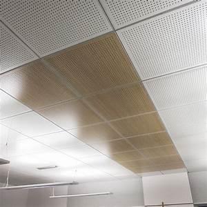 Dalle Faux Plafond 60x60 Leroy Merlin : cuisine faux plafond en bois en panneau en dalle ~ Melissatoandfro.com Idées de Décoration