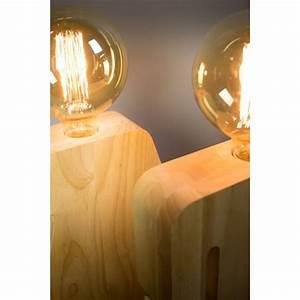 Lampe à Poser Bois : lampe poser en bois adam by drawer ~ Teatrodelosmanantiales.com Idées de Décoration