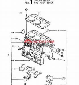 Yanmar Engine 3tna72l Ubb  Parts Catalog