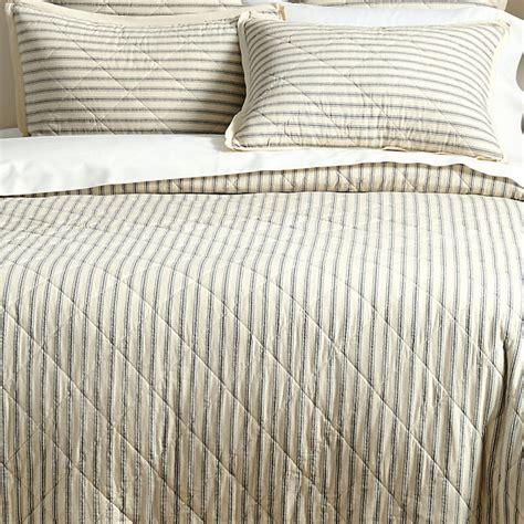 ticking stripe quilt ticking stripe quilt black contemporary