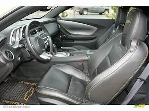 Black Interior 2010 Chevrolet Camaro SS Coupe Transformers ...