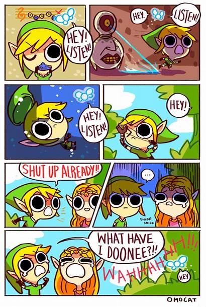 Zelda Legend Comic Funny Hey Listen Navi