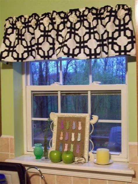 kitchen curtains and valances ideas easy ideas of diy kitchen window valances the way