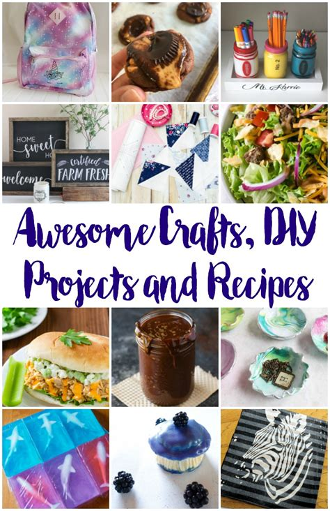 Awesome Crafts Diy Ideas Recipes And Block Party  Rae Gun
