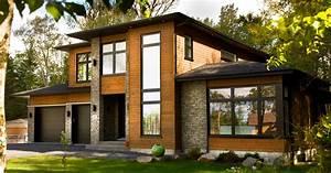 maison brique de bois myqtocom With maison brique et bois