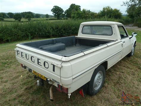 peugeot pickup peugeot 504 pick up with demountable classic camper
