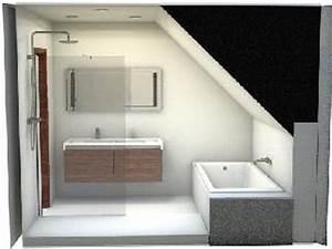 salle de bains sous combles listspiritcom leading With idee amenagement salle de bain sous comble