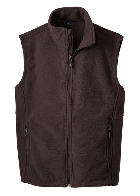 port authority  polar fleece vest mens gearone