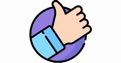Positive Icon Icons Vote Flaticon Freepik Designed